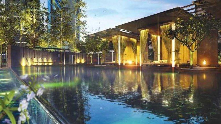 Malaysia Johor The WaterEdge Apartment Senibong Cove Facility
